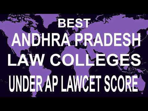 Best Andhra Pradesh   Law  Colleges accepting  AP LAWCET Score