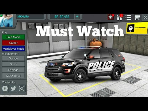 How to install Police Car Mod In Bus Simulator Indonesia-Must Watch