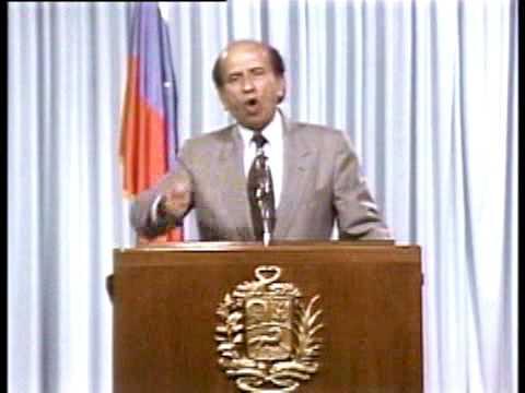 Carlos Andrés Pérez (CAP) - 27 de Febrero de 1989 - Genocidio del Caracazo, Venezuela