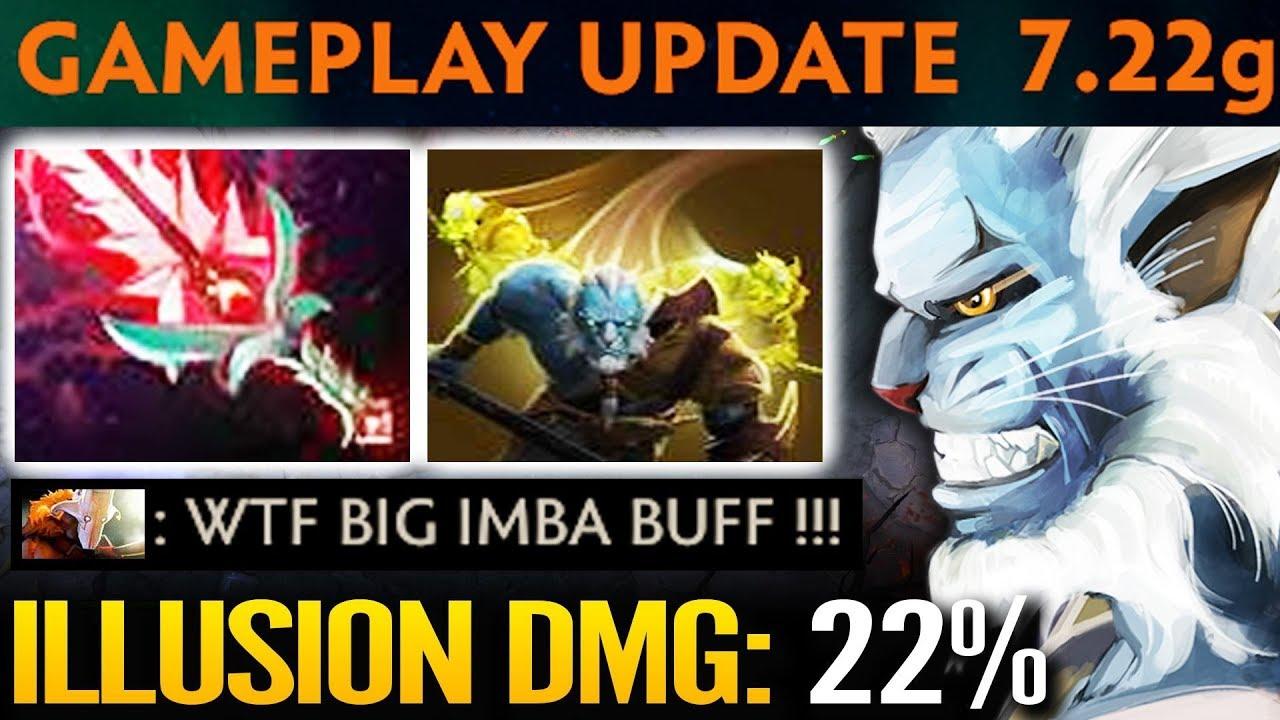 Miracle Phantom Lancer Imba Illusion Damage 22 7 22g New Update Dota 2 Youtube