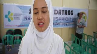 Kiat Suci Sutma, peraih skor SKD CAT BKN 423 Kemenkes Palembang
