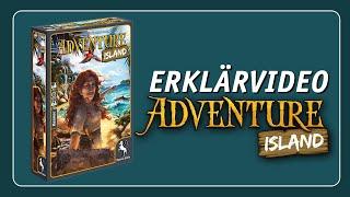ADVENTURE ISLAND   Erklärvideo präsentiert von Pegasus Spiele M.I.C