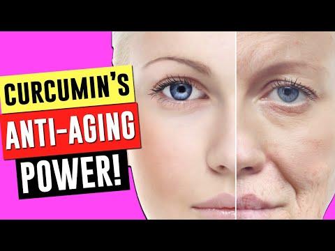 THE ANTI-AGING POWERS OF CURCUMIN AND TURMERIC!