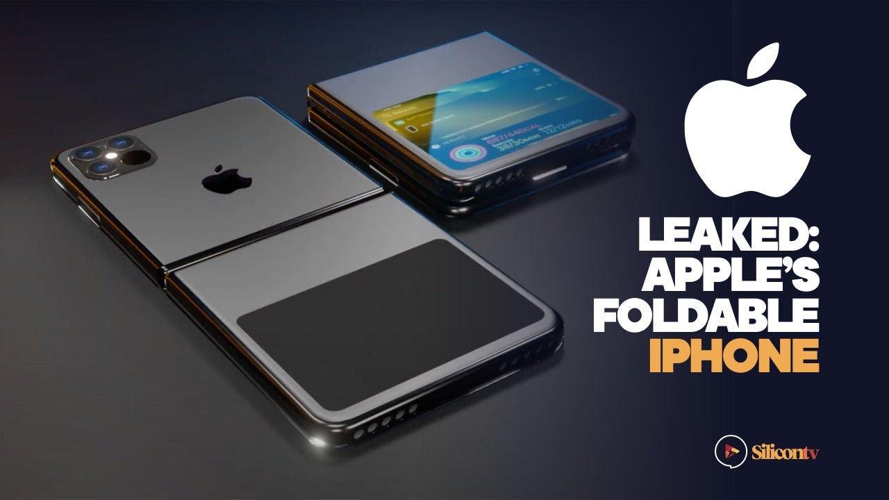 Leaked: Apple's foldable iphone 2021 - YouTube