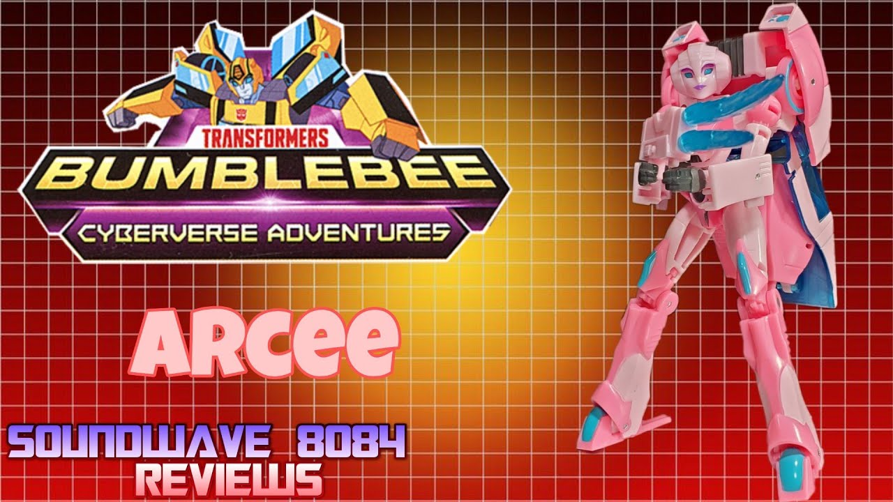 Bumblebee Cyberverse Adventures Arcee Review by Soundwave 8084