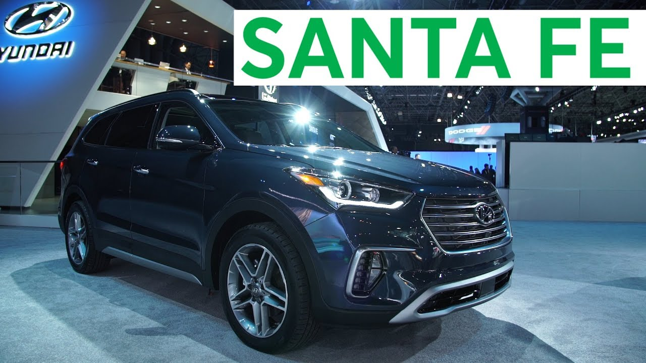 New York Auto Show Hyundai Santa Fe Consumer Reports - New car auto show