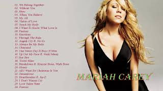 Mariah Carey Greatest Hits Full Playlist - Best Songs Of Mariah Carey Collection