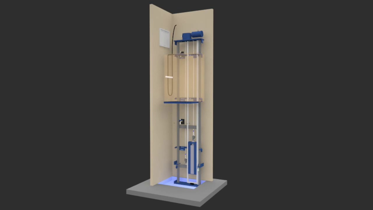 A Frame Hoist >> Traction Home Elevator Toronto -Machine Room Less (MRL ...