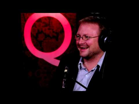 """Looper"" director Rian Johnson in Studio Q"