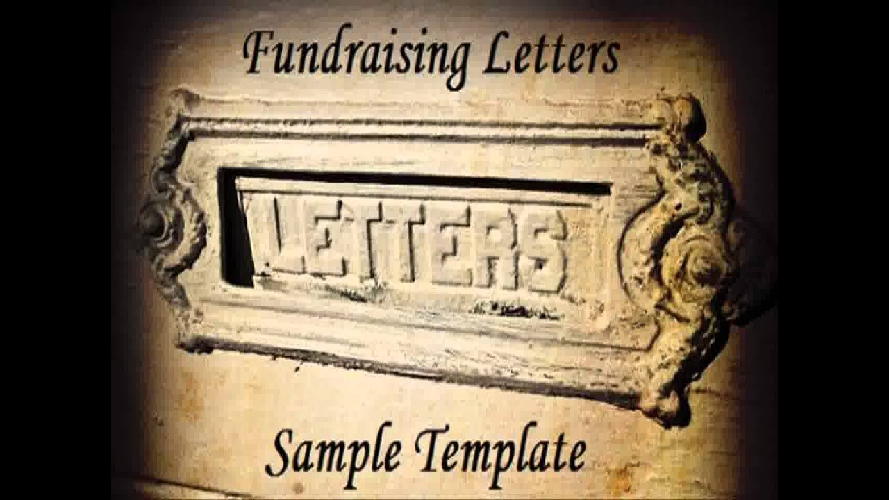 Donation Letter Template - Youtube