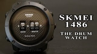 Skmei drum watch 1486 full review and operation manual #171