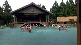Paiwan aborigines dance