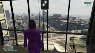 GTA V Online Maze Bank West Executive Office Garage Views