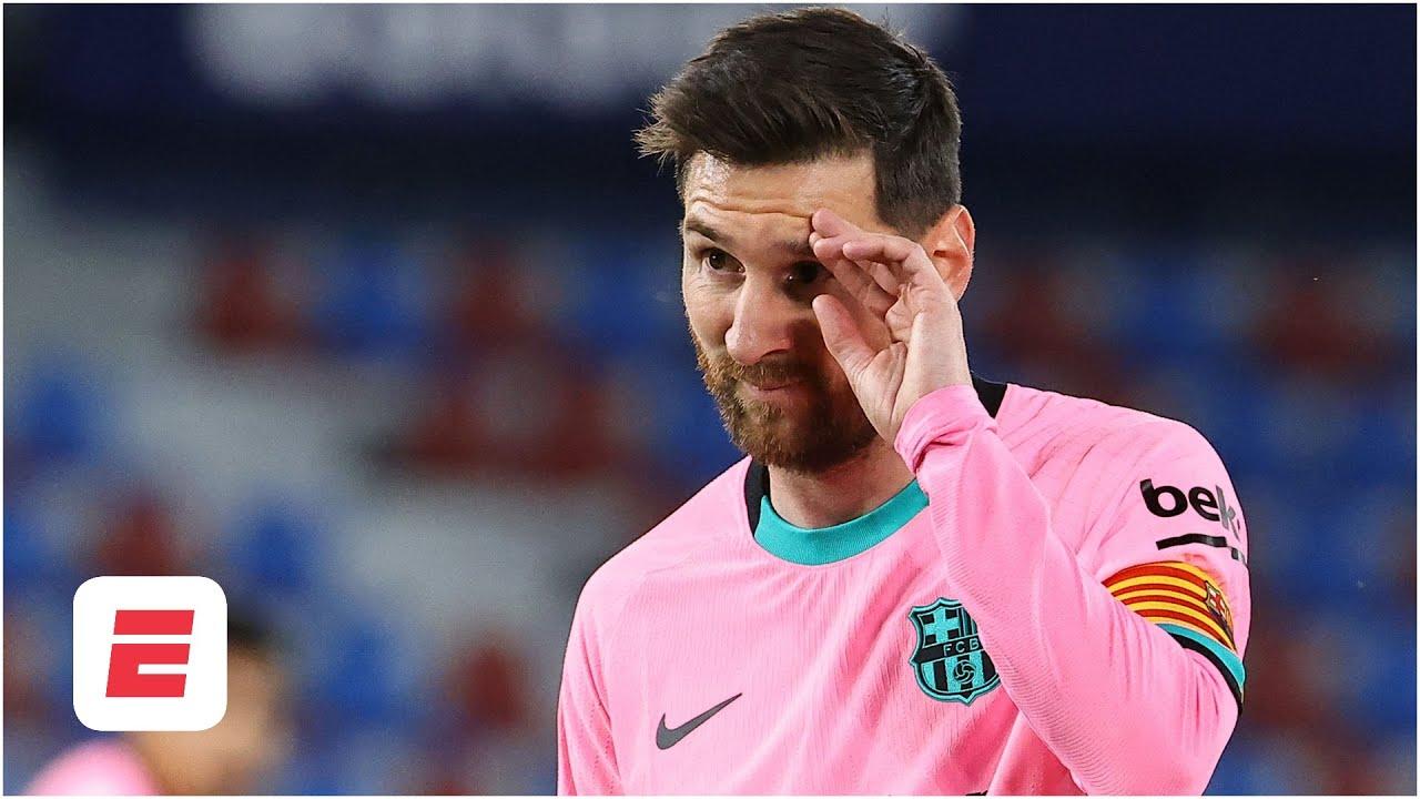 Ronald Koeman is 'QUITE NERVOUS' about Lionel Messi situation   ESPN FC