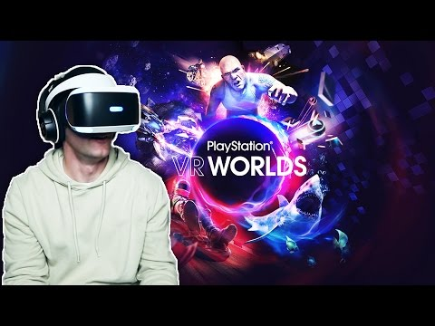 INCREIBLE!!! PlayStation VR Worlds - [LuzuGames]