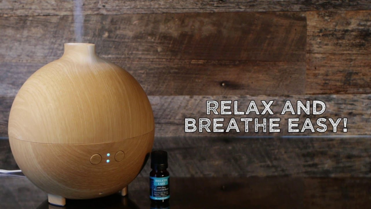 How To Diffuse Essential Oil In A Diffuser - YouTube