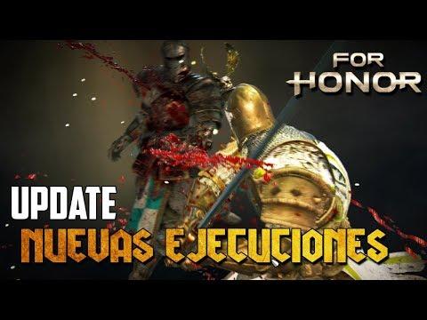 NUEVAS EJECUCIONES! LAS MAS BESTIAS   FOR HONOR ESPAÑOL