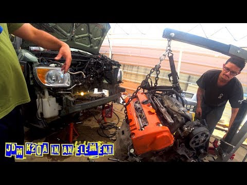Res-E-Rection Honda Element Gets a JDM K20A Engine and the crazy story that lead to it