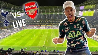 WE GOT TICKETS TO SPURS vs ARSENAL *ONLY 2,000 FANS ALLOWED* | EXCLUSIVE FOOTAGE FROM THE STANDS!!