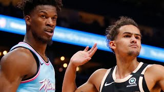 Trae Young CLAPS BACK at Jimmy Butler After Dropping Career High 50 Points On Miami Heat!