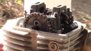 Honda XR80R Top End Tear Down - Finding Compression Leak