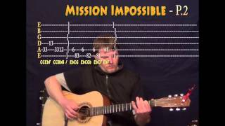 Mission Impossible - Guitar Cover Lesson with TAB