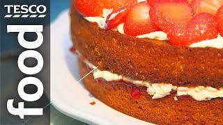 How To Cut A Cake Without A Knife | Tesco Food