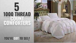 Top 10 1000 Thread Count Comforters [2018]: Grandeur Linen's Queen Size Luxurious 1000 Thread