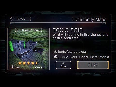 Prodeus Community Maps - TOXIC SCIFI  
