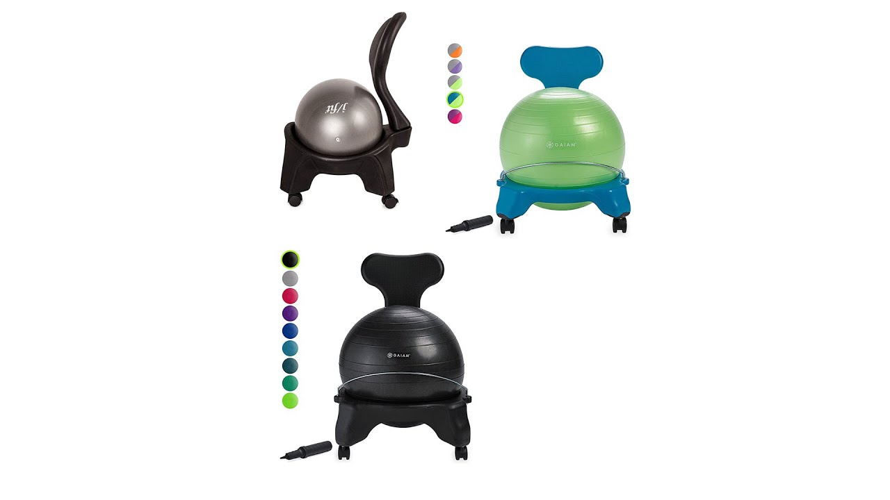 Download Best Exercise Ball Chair | Top 10  Exercise Ball Chair 2021 | Top Rated  |
