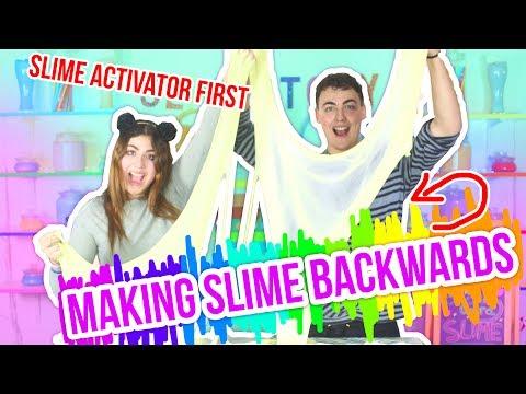 MAKING SLIME BACKWARDS , slime activator first! Slimeatory #44