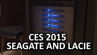 Seagate Suite CES 2015 - Thin Drives, Cloud Compatibility, Rugged Drives, and Stylish Drives