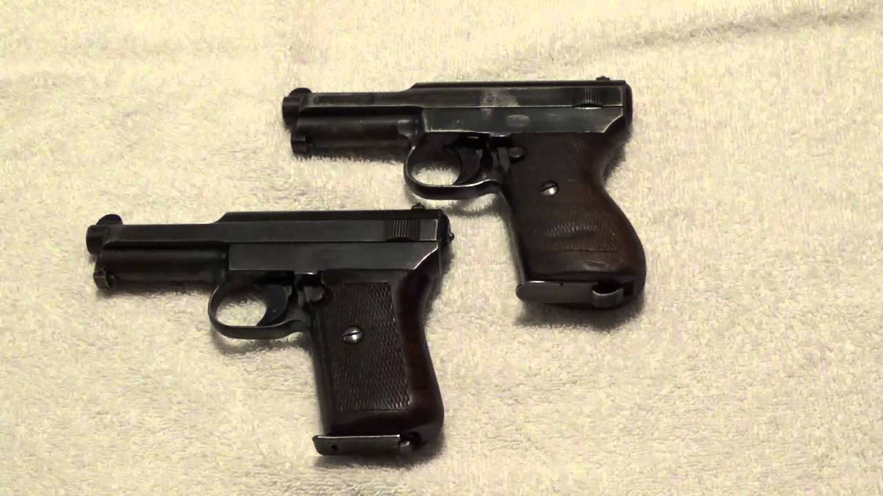 Kriegsmarine Mauser Model 1934 Pistol and Comparison with the 1914 Model  Mauser