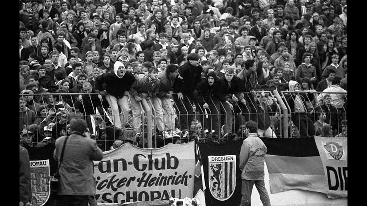 KRAWALLE - ESKALATION Dynamo Dresden vs Roter Stern Belgrad 1991 (sa  prevodom)