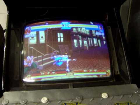 My Street Fighter Alpha Cabinet Youtube