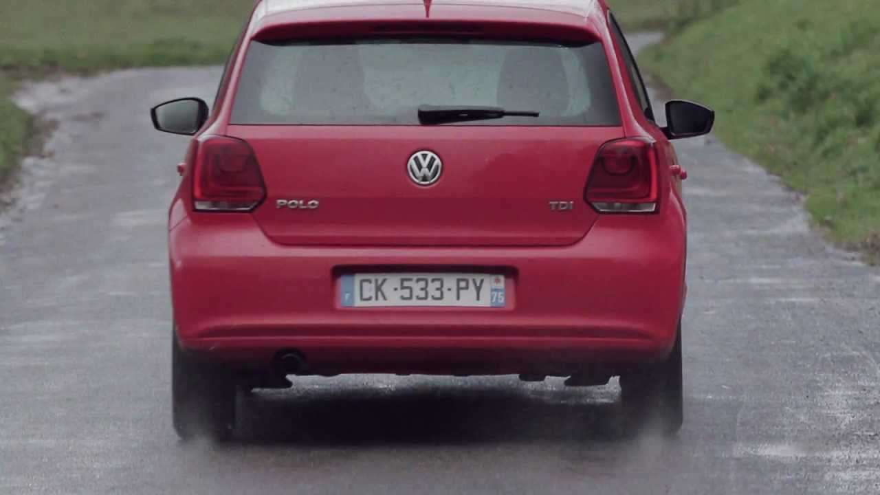 essai volkswagen polo 1 6 tdi 90 match 2012 youtube. Black Bedroom Furniture Sets. Home Design Ideas