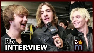 r5 reveals holiday wish list what makes them smile about each other exclusive interview