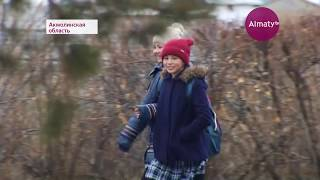 Жители села Кажымукан Акмолинской области жалуются на бездорожье (08.10.17)