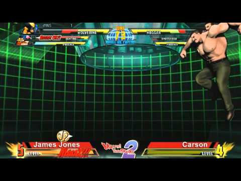 James Jones vs Carson - Marvel Throwdown 2 @ Metropolis Comics And Toys
