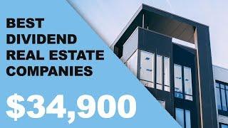 Best Real Estate (REIT) Dividend Companies! | Joseph Carlson Ep. 16