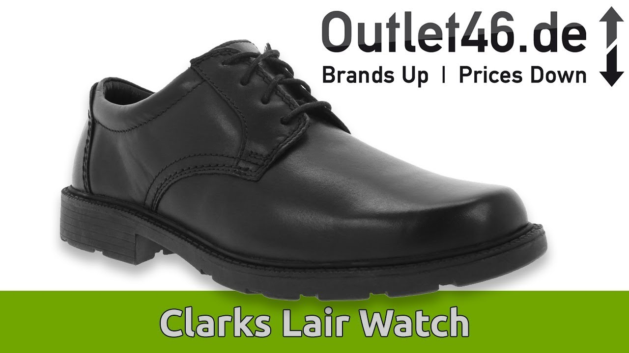 Clarks Lair Watch Herren Echtleder Schuhe DEUTSCH l Review l On feet l Haul l Overview l Outlet46