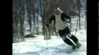 Урок 9  Видео как научиться кататься на горных лыжах