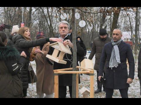 mistotvpoltava: У Києві стартувала Всеукраїнська акція «Нагодуй птахів взимку»