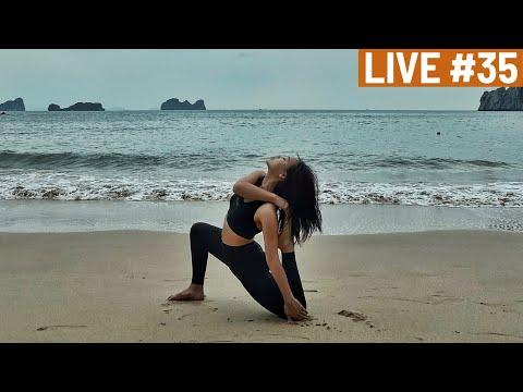 LIVESTREAM #35 | YOGA - DEEP BREATH | 250 Calories