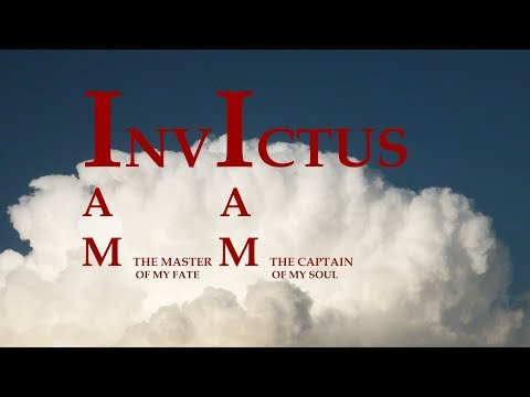 Invictus by William Ernest Henley (read by Gilberto Vela)
