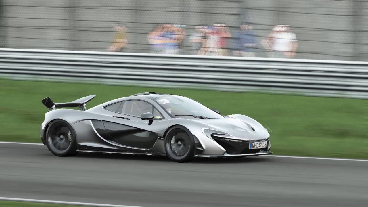 Project cars giro con la mclaren p1 youtube - Project cars mclaren p1 ...