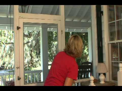 how to install wood screen door 2
