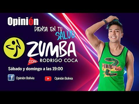 Zumba Fitness con Rodrigo Coca - Rutina 007, para eliminar el estrés