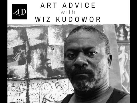 Art Career Advice from Wiz Kudowor: Adelaide Damoah Art Discussion
