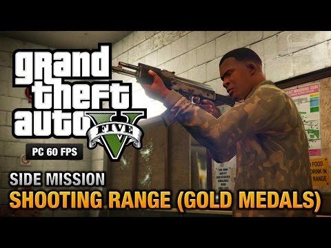 GTA 5 PC - Shooting Range (Gold Medals)